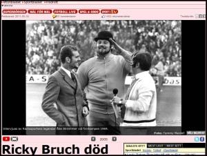 Ricky Bruch - diskusen seglar vidare