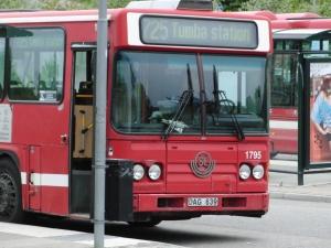 Bussloopen i Rönninge