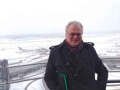 Frisk vy från flygledartornet (Foto: Hans-Erik Malmros)
