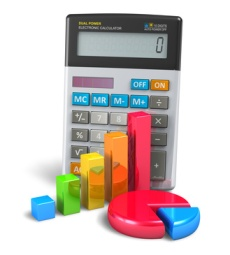 Business finance, banking and accounting concept
