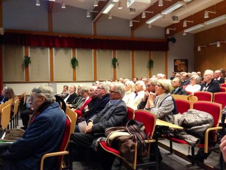 Publik i Rönninge gymnasium.
