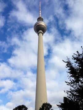 TV-tornet på Alexanderplats.
