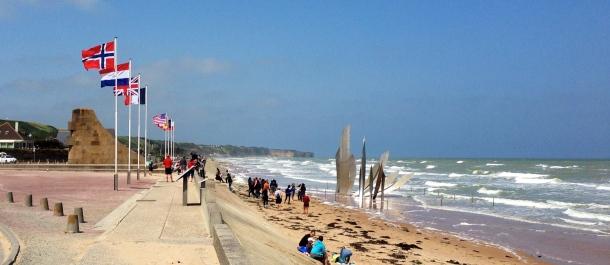 Monumentet vid S:t Laurent sur-Mer, Omaha Beach