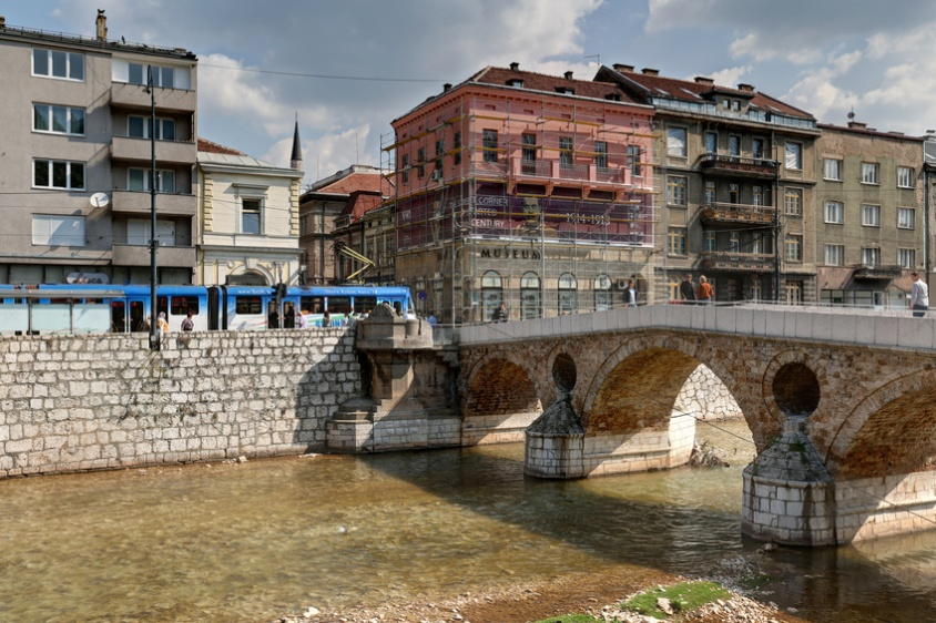 Sarajevo Bosnia Latin Bridge Assassination 1914 04