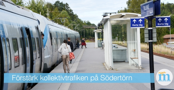 kollektivtrafik södertörn