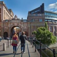 Glädje och förskräckelse i Stockholm