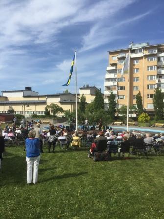 Richard Broberg Band i Säbylunden, 6 juni 2016