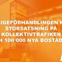 Sverigeförhandlingen klar - Spårväg Syd, ny t-banelinje till Älvsjö och mycket mer