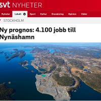 Nynäshamn laddar för Norvik, men Södertörn behöver bättre infrastruktur