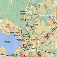 Södra Hallsta, Garnudden och Jägarstigen