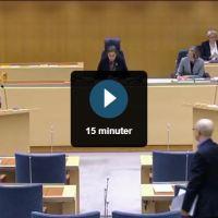 """Högantorpsvägen debatterades i Riksdagen: """"Tvång ej önskvärt"""""""